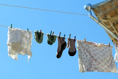 The old laundry Stock Image