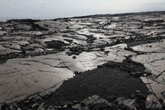 Old Lava Field Stock Photography