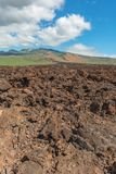 Old lava flow maui hawaii Royalty Free Stock Image