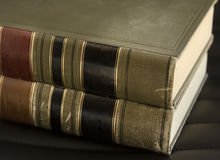 Old law legal books Royalty Free Stock Photo