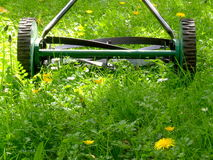 Old Lawn Mower Royalty Free Stock Photo