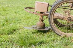Old Lawn mower Royalty Free Stock Image