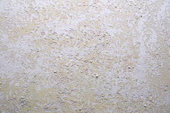 Old layered stucco wall Stock Image