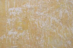 Old layered stucco wall Royalty Free Stock Image