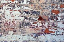Peeling blue paint on old brick wall stock photo image 20190230 - Exterior paint peeling concept ...
