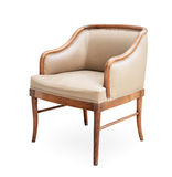 Old leather armchair Royalty Free Stock Photos