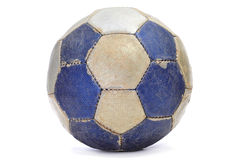 Old leather ball Royalty Free Stock Photos