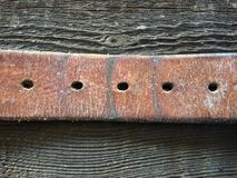 Old Leather Belt Royalty Free Stock Images