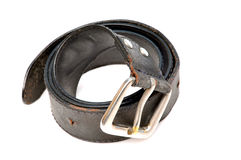 Old leather belt Royalty Free Stock Photo