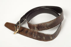 Old Leather Belt Royalty Free Stock Image