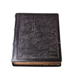 Old leather book, Royalty Free Stock Photo