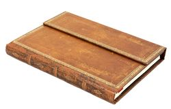 Old leather book Royalty Free Stock Photography
