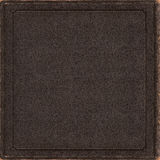Old leather book cd vinyl single blank cover artwork Royalty Free Stock Photo
