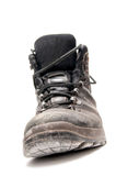 Old leather boot Royalty Free Stock Photo