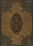 Old leather bound Bible stock images