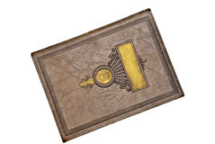 Old Leather Bound Book Royalty Free Stock Image