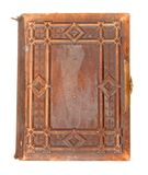 Old leather bound book Stock Image