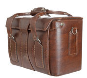 An old leather briefcase Royalty Free Stock Photography
