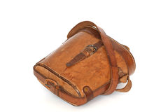 Old Leather Case Royalty Free Stock Images