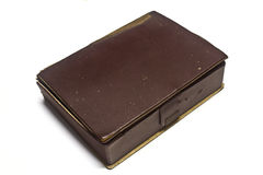Old leather case Stock Photos
