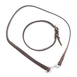 Old leather dog collar and leash isolated Stock Images