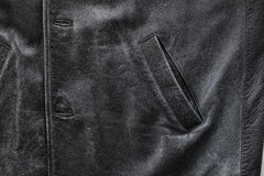 Old leather jacket Royalty Free Stock Image