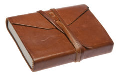 Old Leather Journal Royalty Free Stock Photos