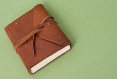 Old Leather Journal Stock Photography