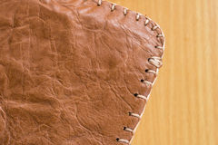 Old leather Stock Images