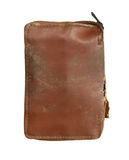 Old leather purse Stock Photography