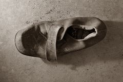 Old Leather Shoe Royalty Free Stock Image