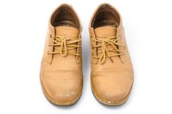 Old Leather Shoes