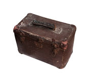 Old leather toolbox royalty free stock photos