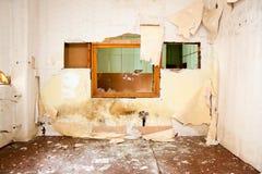 Old leave deserted room Stock Image