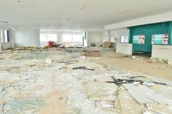 Old leave deserted room