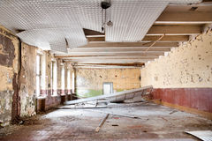 Old leave dining hall Royalty Free Stock Images