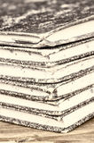 Old ledgers Stock Images