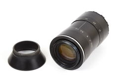 Old lens, the isolated image Stock Photo