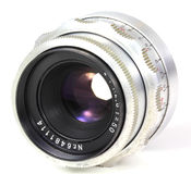 Old lens Royalty Free Stock Photography