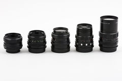 Old lenses Stock Photos