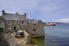 Old Lerwick Stock Image