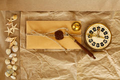 Old letter Royalty Free Stock Images