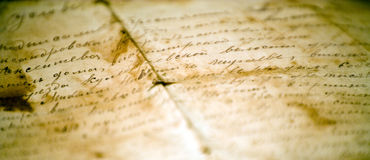 Free Old Letter Royalty Free Stock Photo - 4859435