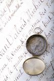 Old Letter Stock Image