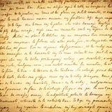 Old Letter Background Stock Image