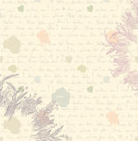 Old letter background - paper Stock Images