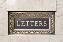 Old Letter Mail Box Royalty Free Stock Photo