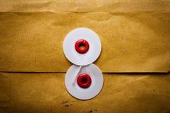 Old letter string 1 Stock Images