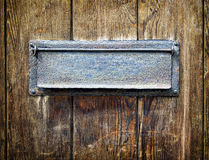 Old letterbox Royalty Free Stock Photos