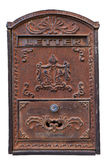 Old letterbox isolated Royalty Free Stock Image
